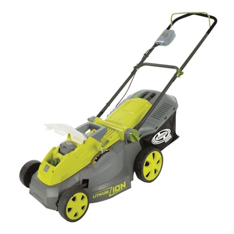 Sun Joe iON 40-Volt Cordless 16-Inch Lawn Mower w/ Brushless Motor - iON16LM