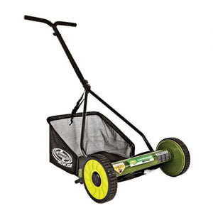 Sun Joe Mow Joe 16-IN Manual Reel Mower with Catcher - MJ500M