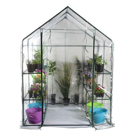 Walk-In Greenhouse - Plant Support