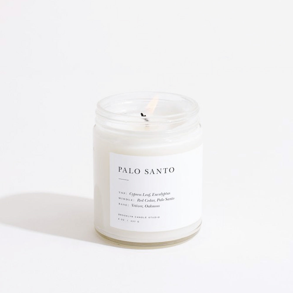 Brooklyn Candle Studio Minimalist Jar Palo Santo