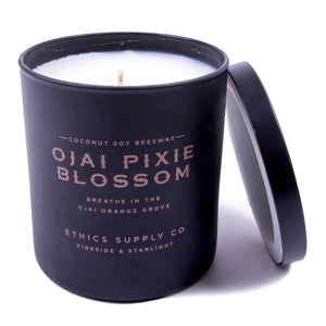 Ethics Supply Company Fireside & Starlight: Ojai Pixie Blossom Candle