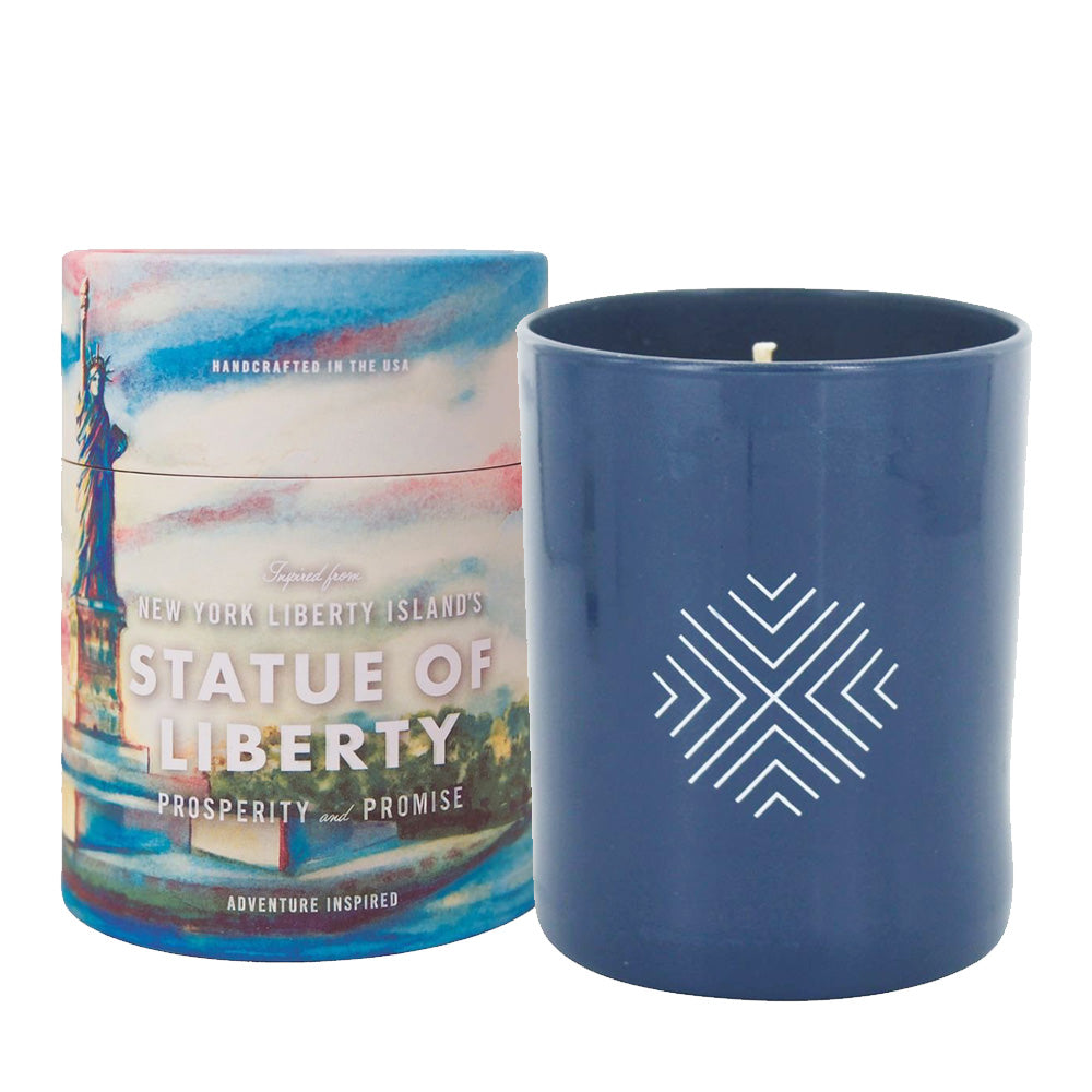 Ethics Supply Company This Land is Your Land: New York Statue of Liberty 11oz Candle