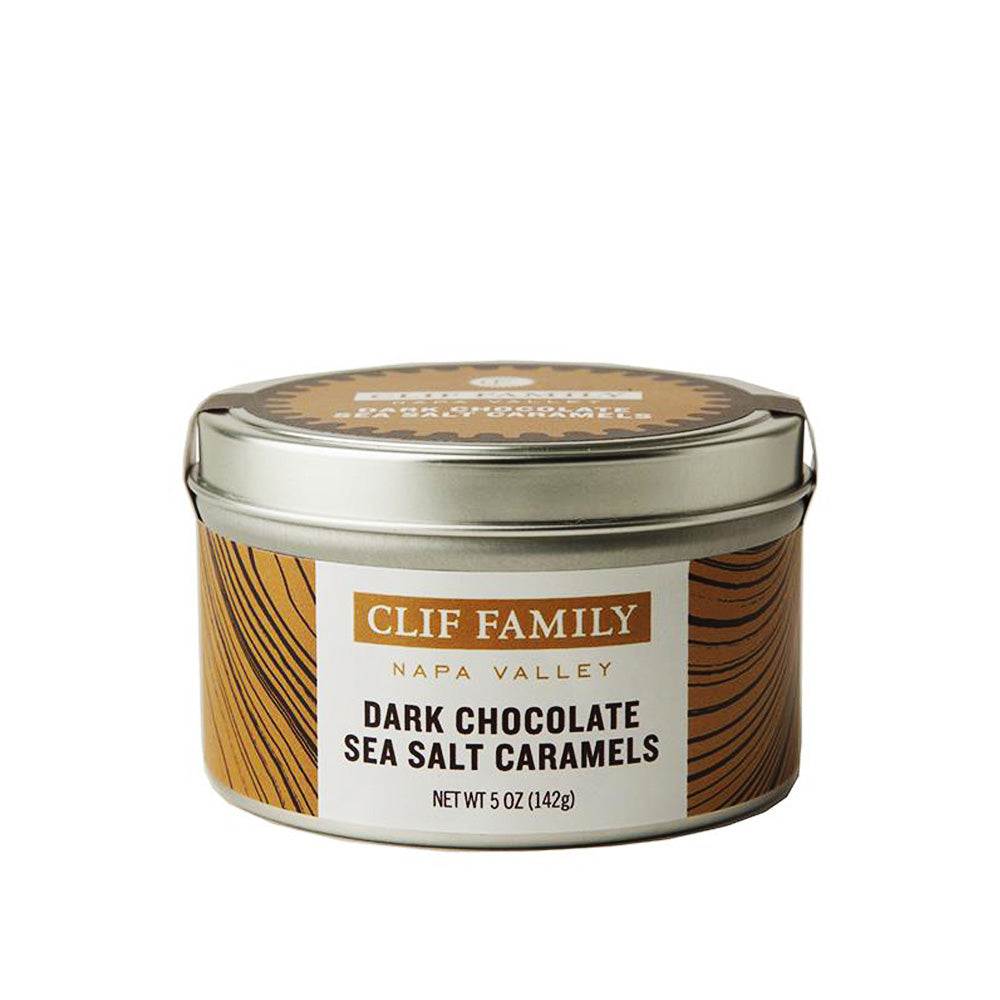 Clif Family Dark Chocolate Sea Salt Caramels 5oz
