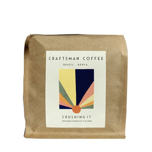 CRUSHING IT Craftsman Coffee beans 12 oz
