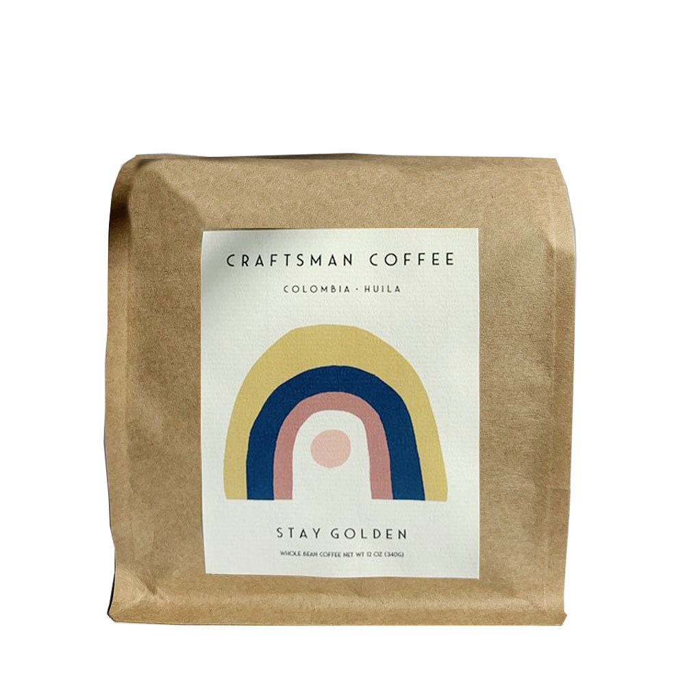 STAY GOLDEN Craftsman Coffee beans 12 oz