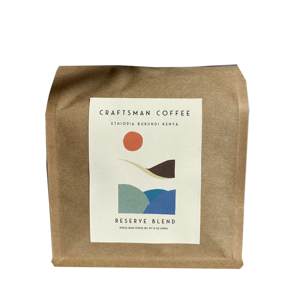 Craftsman Coffee Reserve Blend beans 12 oz