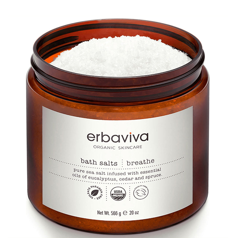 Erbaviva Breathe Organic Bath Salts