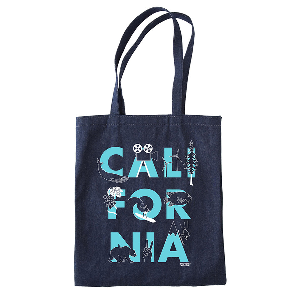 California Denim Tote