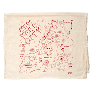 Maptote Tea Towel New York City
