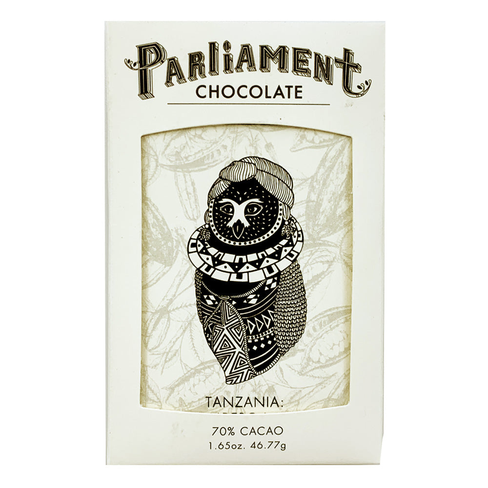 Parliament Single Origin Tanzania 70% Dark Chocolate