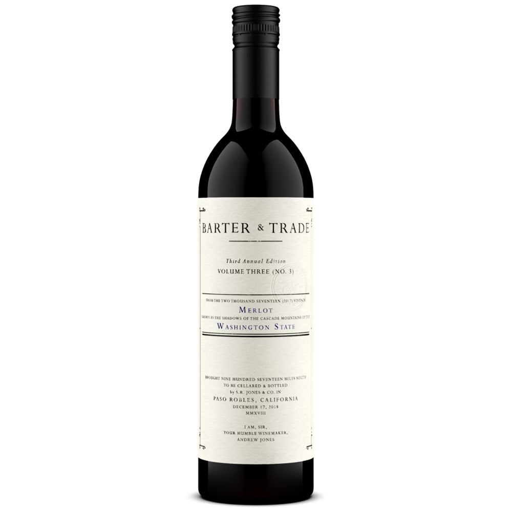 Barter and Trade #3 2017 Columbia Valley Merlot