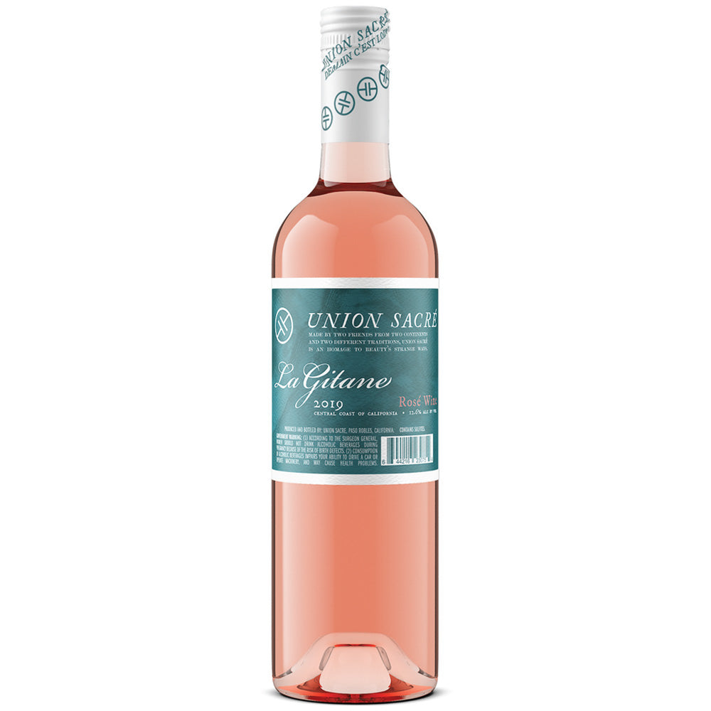 Union Sacré 2019 Gitane Rosé of Pinot Noir, Happy Canyon, Santa Barbara