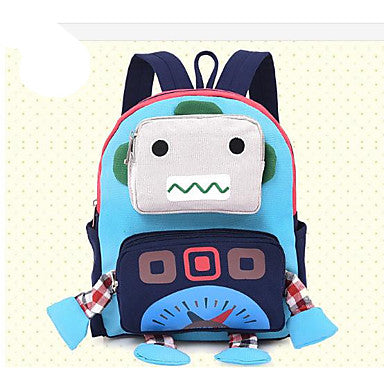 Bags Canvas Kids' Bag Zipper for Casual Blue / Red / Yellow