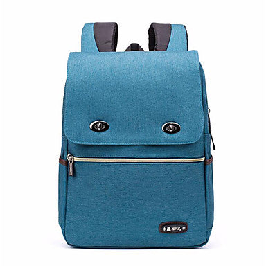 Polyester / Nylon School Bag Zipper Camel / Gray / Navy Blue