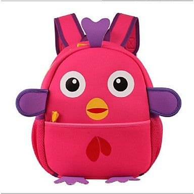 Unisex's Cute Baby Chick Modeling Diving Cloth Backpack
