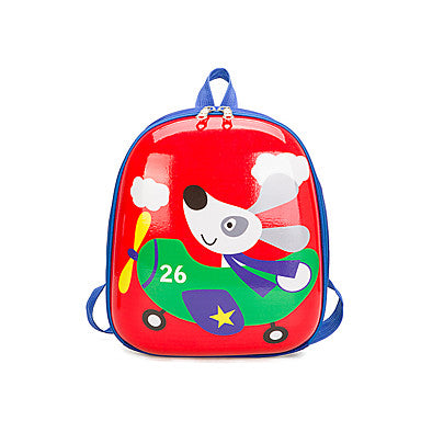 Unisex Bags Nylon Backpack Zipper Green / Red / Blushing Pink