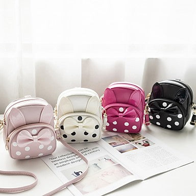Bags PU Kids' Bag Bow(s) for Shopping Blushing Pink / Milky White / Fuchsia