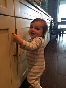 Vmaisi Safety Cabinet Locks Help New Mom to Protect Daughter