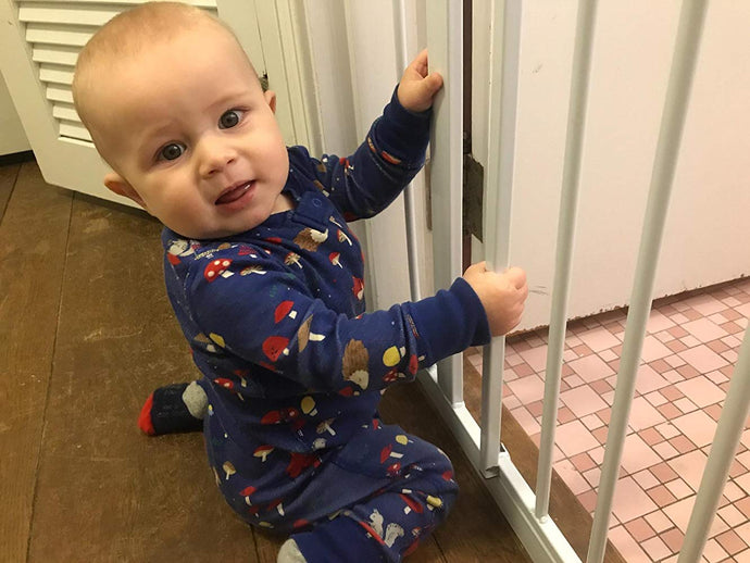 Protect Wall or Door Facing from Baby Gate Edges