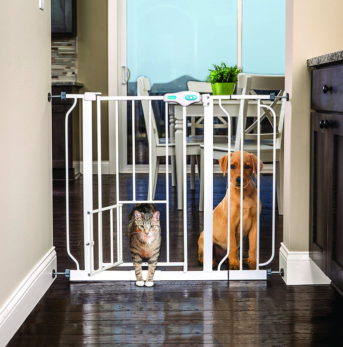 10 Ideas How VMAISI Baby Gate Wall Protector Help You Use Baby Gates or Pet Gates.