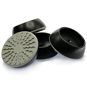 Vmaisi 4 Pack Baby Gates Wall Cups - Black