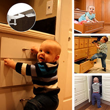 Cabinet Locks Child Safety Latches - VMAISI 12 Pack Baby Proofing Cabinet Locks