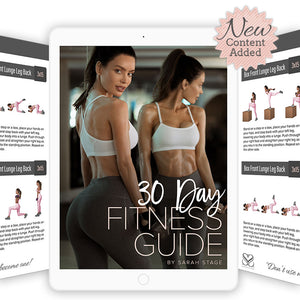 Sarah Stage 30 Day Fitness Guide - Version 1.2