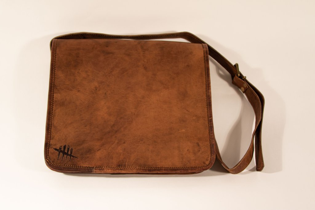 Dead by Daylight - Branded Leather Satchel Bag