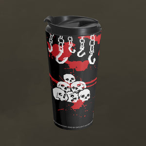 No One Escapes Death Travel Mug
