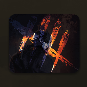 The Trapper Mouse Pad