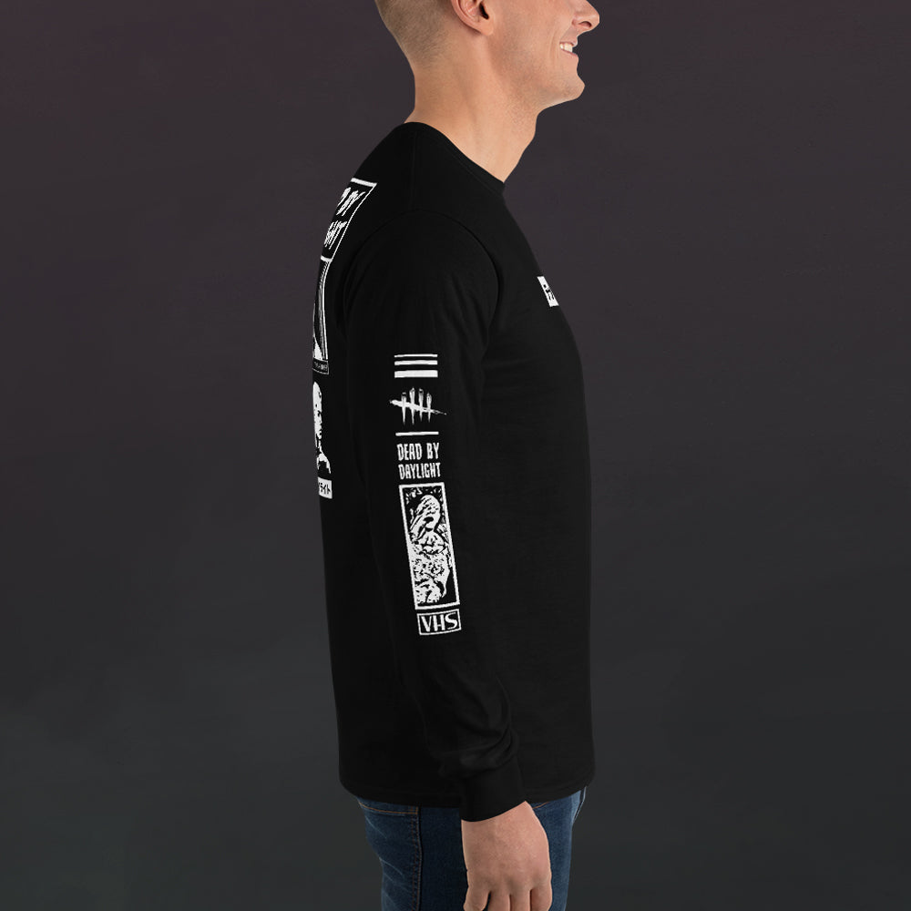 Retro VHS Trapper Long Sleeve T-Shirt