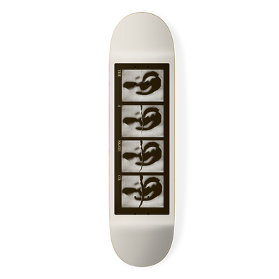 the 4 skateboard company reverb series skateboard black by louie dodd