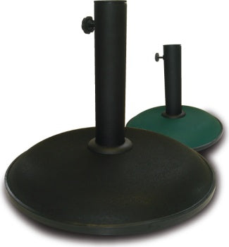 15kg Parasol Base Black Concrete
