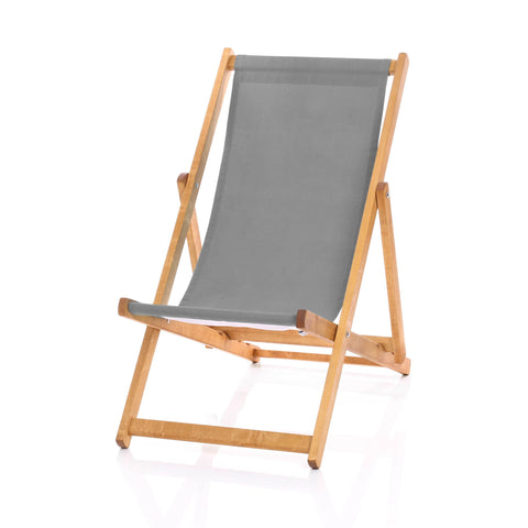 Hardwood Deckchairs - Plain