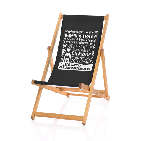 Hardwood Deckchairs - Somerset Placenames