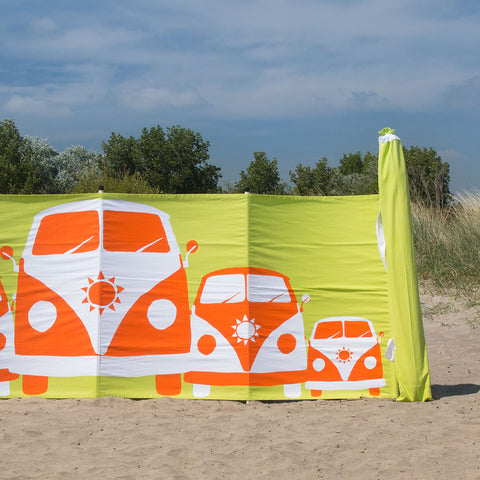 Cotton Canvas Windbreak- Campervan