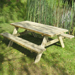 Heavy Duty Rectangle Picnic Table