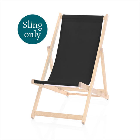 Cotton Canvas Replacement Deckchair Slings