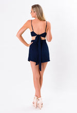 Load image into Gallery viewer, Hello Navy Playsuit
