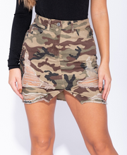 Load image into Gallery viewer, Harley Camo Skirt