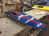 "SD3  FE  42"" Boat & Cowl  (Electric)"