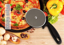 Load image into Gallery viewer, 1 pc Stainless Steel Pizza Cutter Round Shape Pizza Wheels Cutters Cake Bread Round Knife Cutter Pizza Tools