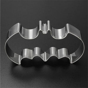Halloween Batman Bat Cookie Tool Cutter Biscuit Press Icing Set Stamp Mold Stainless Steel Pastry Tools Kitchen Accessories