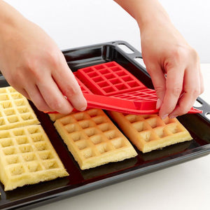 Silicone 4-Cavity Waffles Cake Chocolate Mold Donut Maker Fondant Baking Molds Cake Decorating Waffles cake Mould Pan