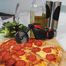 Load image into Gallery viewer, 1Pc Motorcycle Stainless Steel Pizza Knife Pizza Wheel Cutter Motorbike Roller Chopper Slicer Peel Knives Kitchen Tools
