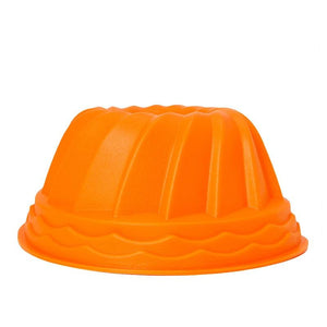 Pumpkin  shaped Swirl Bundt Ring Cake Bread Pastry Silicone Mold Pan Tray Mould New Useful