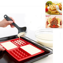 Load image into Gallery viewer, High Quality Waffle Makers for Kids Silicone Cake Mould Waffle Mould Silicone Bakeware Set Nonstick Silicone Baking Mold Set