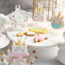 Load image into Gallery viewer, 8pcs/set Creative Unicorn Cookie Cutter DIY Fondant Chocolate Cake Embossing Stencil Mold Biscuit Cute Mold Baking Tool