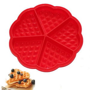 Superior Silicone Cake Moulds Waffle Makers Tools hocolate Mould Nonstick Baking Mold Bakeware DIY Modle Kitchen Cooking Gadget