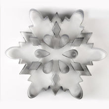 Load image into Gallery viewer, Cookie Moulds Christmas Snowflake Biscuit Cutter Stainless Steel Pastry Accessories DIY Cookie Tools